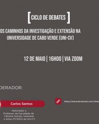 Ciclo de debates na Uni CV