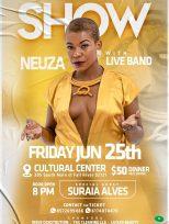 EUA: Show ao vivo de Neuza