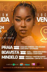 Shows de Elida Almeida