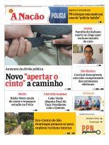 Capa Jornal A Nação Edição 720