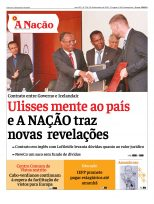 Capa Jornal A Nação Ed 734