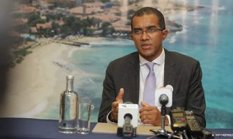 Carlos Santos na ilha do Sal