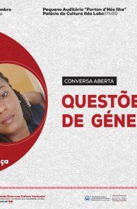 """Conversa Aberta sobre o tema """"Questões de Gênero"""""""