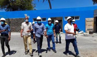 Missão da CAF e FIFA inspecciona estádio Adérito Sena