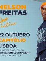 Show de Nelson Freitas em Lisboa
